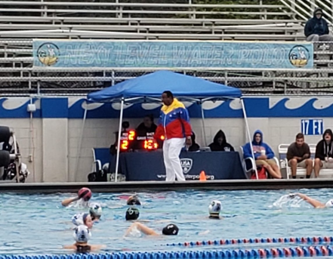 North Charleston Water Polo Team competing at the Battle of the Bay